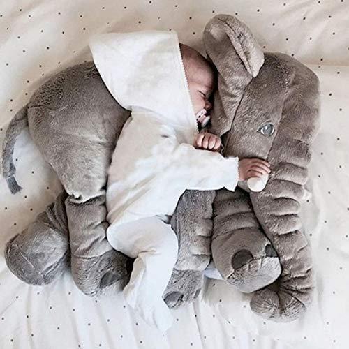 65cm de Felpa Gran Elefante de Juguete bebé Suave Almohada de Peluche Animal muñeca bebé cojín Trasero para Dormir Elefante muñeca Regalo para niños