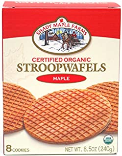 Shady Maple Farms Organic Cookie Waffles (Maple, 1)