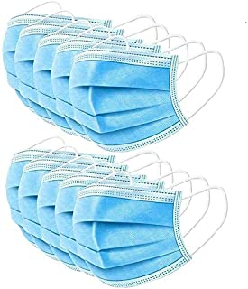 50pcs Disp0sable Nose Filter 3-layer Breathable Comfortable Cover Used In Hospitals,schools And Public Health