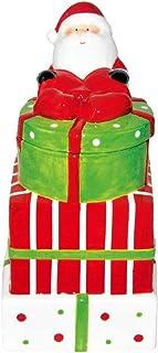 HARMONY XMAS Ceramic Christmas Cookie Jar12.2 * 11.3 * 22.5cm