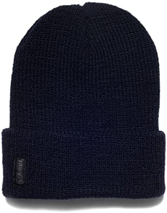 d5a720b09 Filipacchi 100% Wool Watch Cap - Navy
