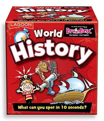 The Lagoon Group 1706 Mini Tabletop Brainbox World History, Nylon/A