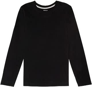 Boys' Long Sleeve Crewneck Tee T-Shirt