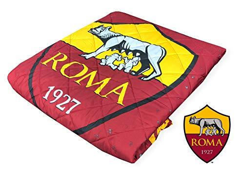 Couvre-lit boutis Rome pour lit 1 place AS Roma