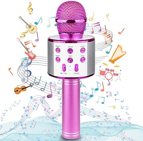 Ranphykx Bluetooth Karaoke Wireless Microphone for Kids Hottest Birthday Presents Toys for 9 product image