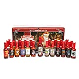 Hot Sauce Gift Set - Advent Calendar - The 25 Sauces of Christmas Countdown to Santa Clause - Also...