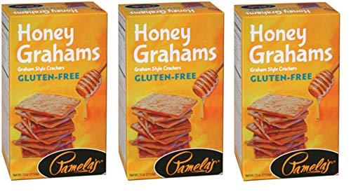 Pamela's Products Gluten-Free Graham Crackers Honey -- 7.5 oz (Pack of 3)