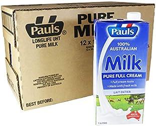 PAULS Pure UHT Milk, 12 x 1l