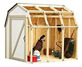2x4basics 90190MI Custom Shed Kit with Barn Roof