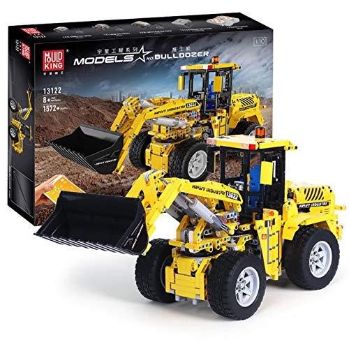 Juego De Construcción De Cargador Frontal Technic, Juego De Construcción De Cargador De Ruedas RC con Motores, 1572 Piezas Bloques Compatibles con Lego,El Modelo De Construcción No Es Creado por Lego