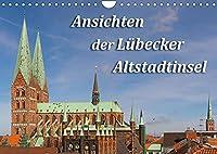 Ansichten der Luebecker Altstadtinsel (Wandkalender 2022 DIN A4 quer): Markante Sehenswuerdigkeiten der Luebecker Altstadt (Monatskalender, 14 Seiten )