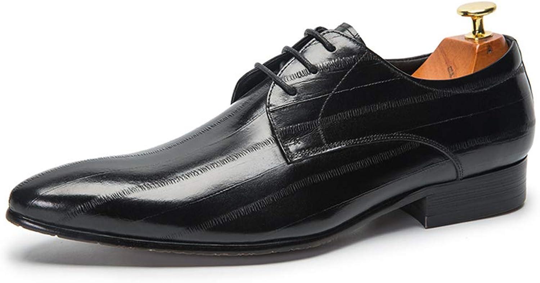 Anzugschuhe Business Herren, Lederschuhe Hochzeit Schnürhalbschuhe Oxford Oxford Oxford Smoking Schuhe Männer Leder Braun 38-44,Black,EU39/UK6 B07PFCV3FJ  8d6bb3