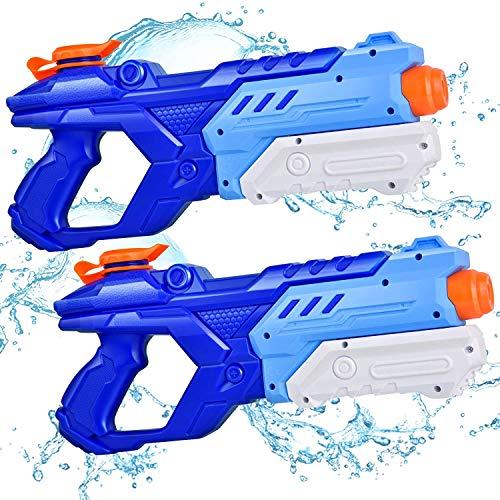 RONSTONE Water Gun, 2 Pack Water Guns for Kids, Squirt Guns 600CC High Capacity & 28-32 Feet...