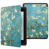 Robustrion Ultra Slim Smart Flip Case Cover for All New Amazon Kindle Paperwhite 10th Generation (Not Compatible with Kindle 10th Gen 2019) - Aqua