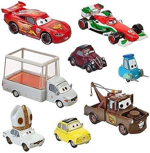 servicio honesto Disney   Pixar CARS 2 Movie Exclusive Exclusive Exclusive 148 Die Cast Car 8Pack Holy Moly Includes Pope Popemobile  by Disney  60% de descuento
