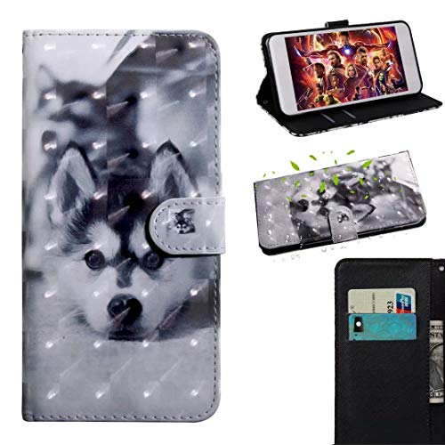 Luckyandery - Funda de piel sintética para Galaxy A70S, diseño de cartera para Galaxy A70S