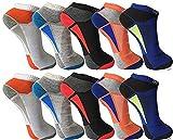 Pesail 10 Paar tolle Herren Sneaker Socken Größe 39-46 (39-42)