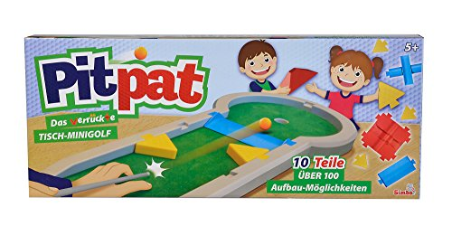 noris 106064190 Games and More Pitpat Tisch-Minigolf