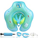 Bst4UDirect Inflatable Baby Swimming Float, Newborn Baby Learn to Swim Inflatable Trainer