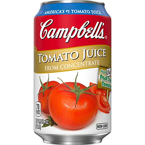 Campbell's Tomato Juice, 11.5 oz. Can (Pack of 24)