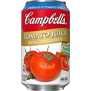 Campbell's Tomato Juice, 11.5 oz. Can (Pack of 24) |