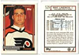 Eric Lindros Topps Rookie Hockey Card. rookie card picture