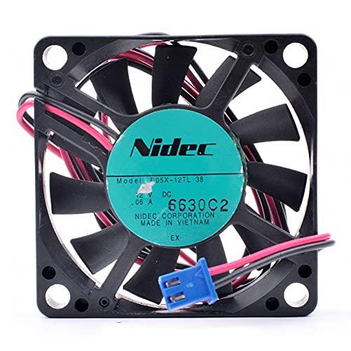 Quiet cooling fan D05X-12TL 5cm 5010 50x50x10mm fan