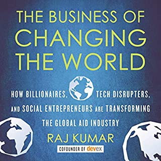 The Business of Changing the World audiobook cover art