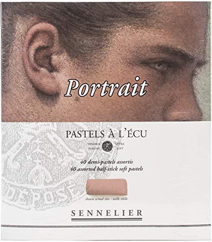Sennelier Pastels Soft Half ST 40/PKG, retrato, talla única