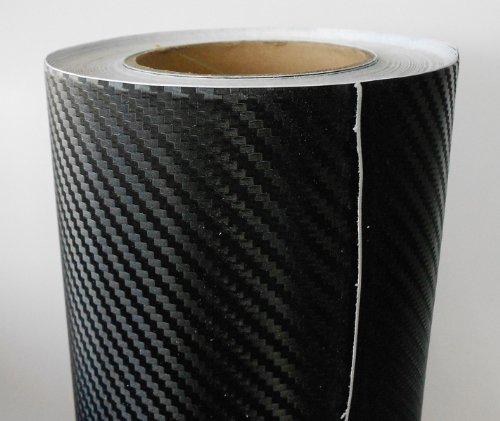 Carbon Folie 3D Struktur fühlbare Struktur 200 x 152 cm (= 3,04qm 5,59€/qm inkl. Mwst zzgl. Versand) selbstklebend Carbonfolie Auto Klebe Folie folieren