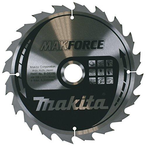 Makita B-08399 - Disco de sierra makforce de 235x2.3 llanta 1.6 mm 20z 20 grados eje de 30