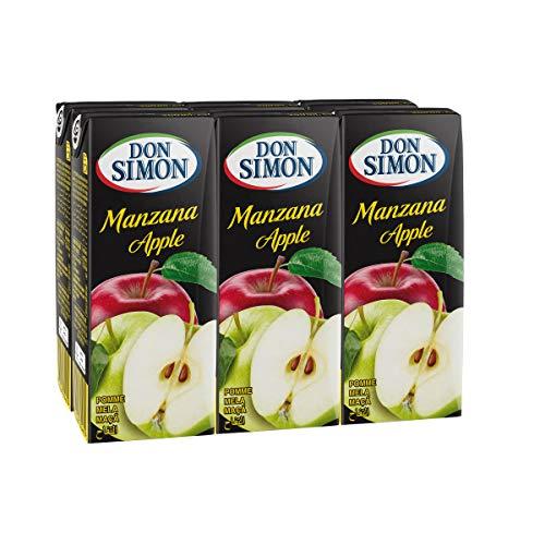 DON SIMON zumo de manzana pack 6 unidades 200 ml
