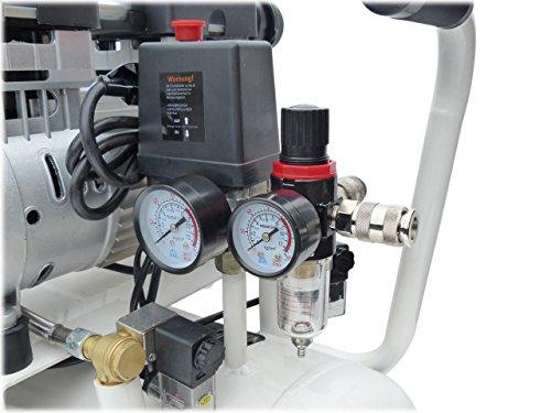 """KnappWulf Kompressor""""mucksmäuschenstill"""" Modell KW2050 8bar Druckluftkompressor 69dB - 4"""
