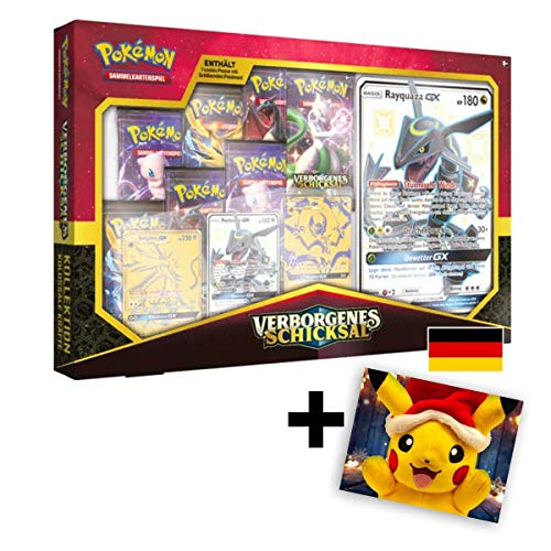 Lively Moments Pokemon Karten Verborgenes Schicksal - Kolossale Kräfte Box - DE - Deutsch / Sammelkarten