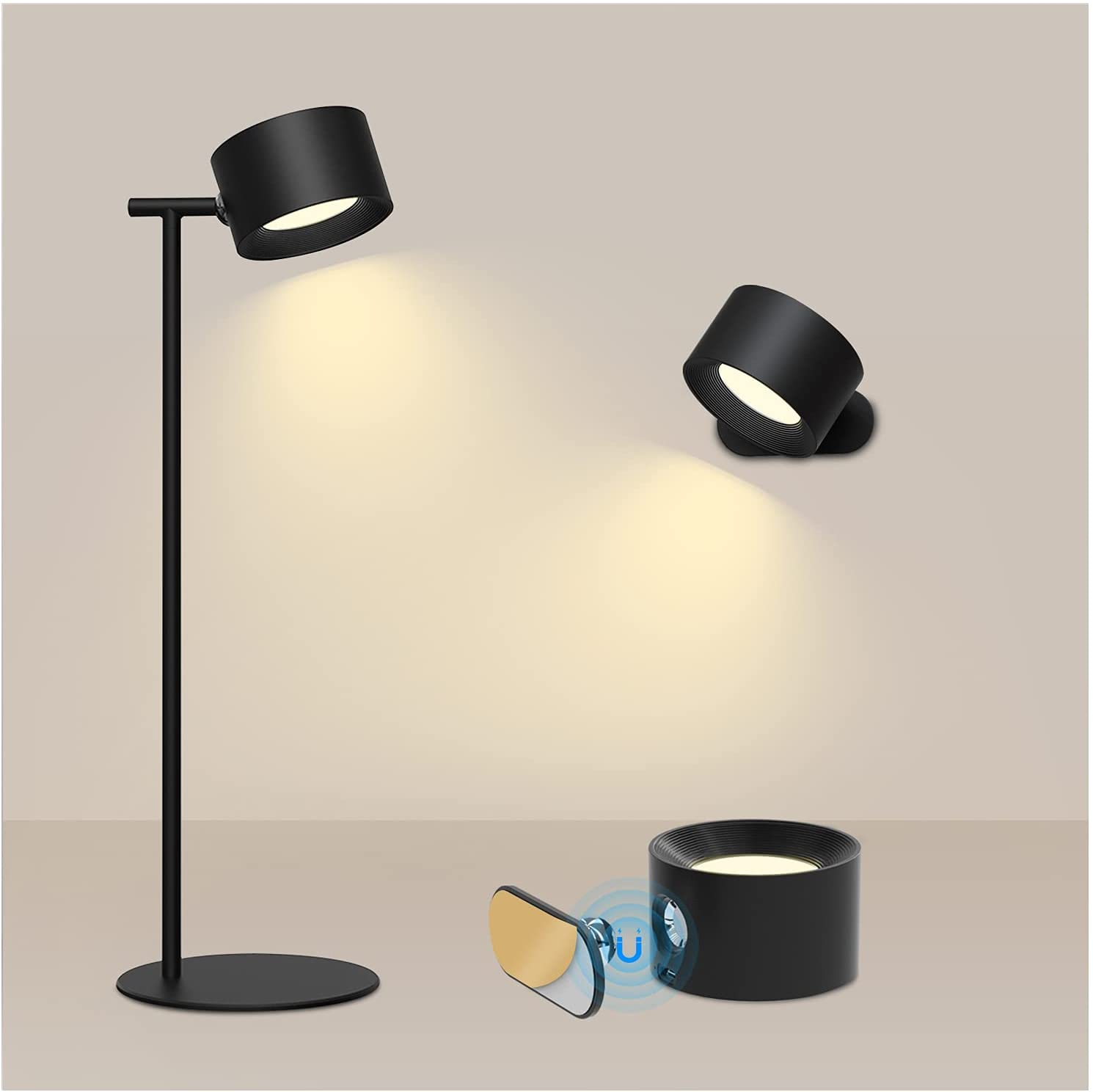 Koopala LED Dealing full price Surprise price reduction Table Lamps Rechargeable lamp Desk with Magneti