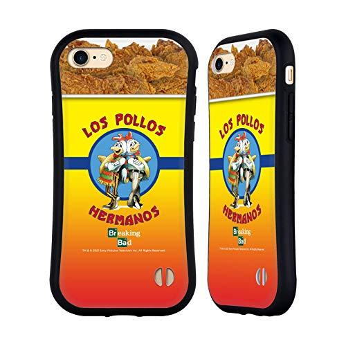 Head Case Designs Licenza Ufficiale Breaking Bad Los Pollos Hermanos Secchio di Pollo Iconico Cover Ibrida Compatibile con Apple iPhone 7 / iPhone 8 / iPhone SE 2020
