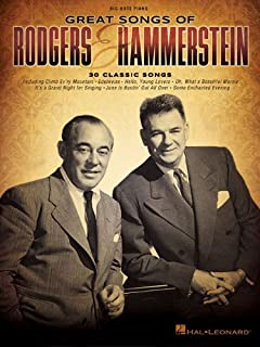 Great Songs of Rodgers & Hammerstein (Big-note Piano