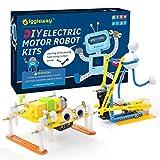 Giggleway Electric Motor Robotic Science Kits, DIY Kids Circuit Building Engineering STEM Toys, Science...