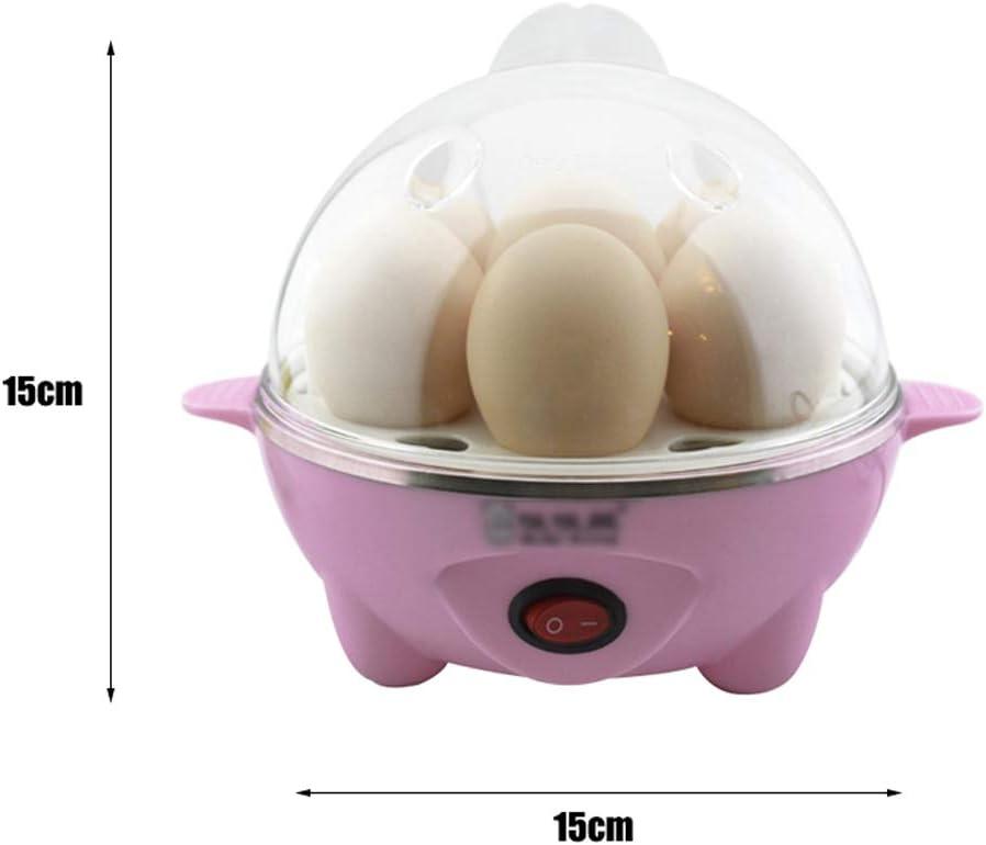 Qjifang Huevo de Vapor, Capacidad de 7 Huevos, Huevos Duros ...
