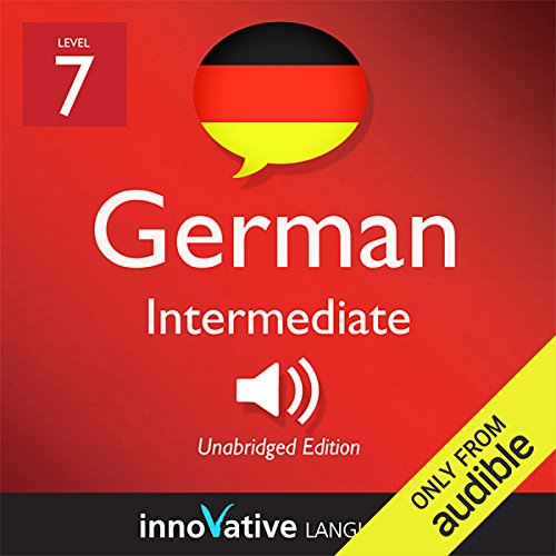 Learn German - Level 7: Intermediate German, Volume 2: Lessons 1-25 audiobook cover art