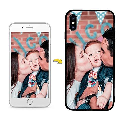 UILY Customize Funda Compatible para Samsung Galaxy A70, Moda Personalizar Suave TPU Carcasa, Fotos Anti-Caída Cáscara.