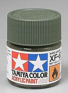 Tamiya 81767 - Pintura Acrylic Mini XF-67 NATO,Verde, 10ml