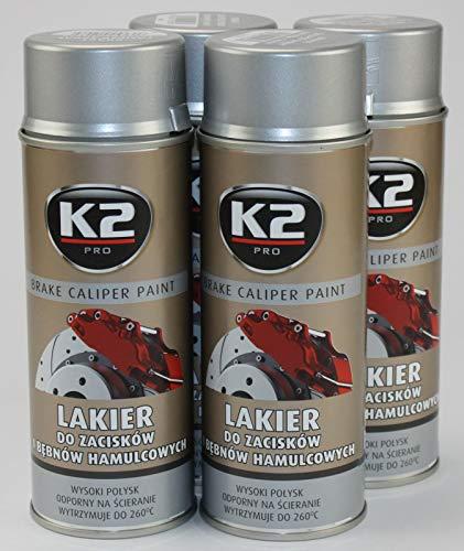 ZentimeX Bremssattellack Lack 4 Dosen Silber 1,6 Liter