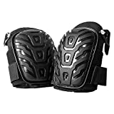 Hirate Professional Knee Pads with Heavy Duty Foam Padding and...