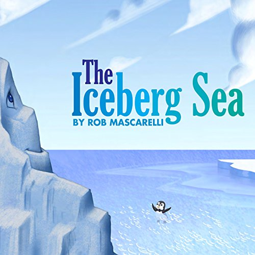 The Iceberg Sea audiobook cover art