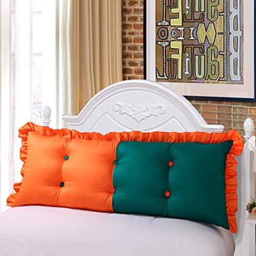uus Coussin de canapé simple Coussin de canapé Design de mode moderne Motifs créatifs Ciel confortable Coussin de lit simple amovible 115 * 50 * 15-20cm ( Couleur : F )