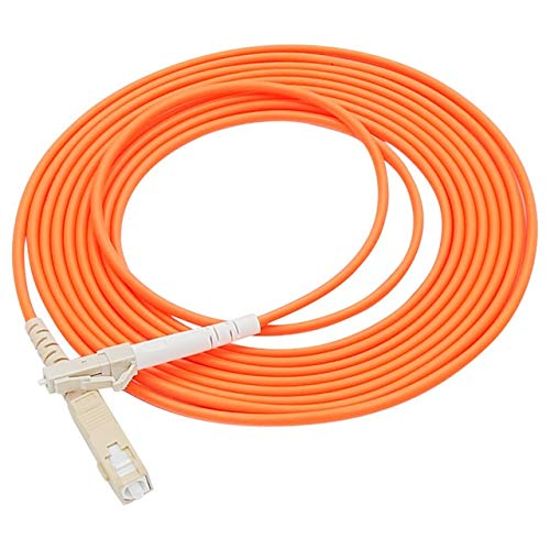 without FMN-HOME, 10 Stück SC FC ST LC MM SX Glasfaser-Patchkabel (Farbe: SC UPC LC UPC)
