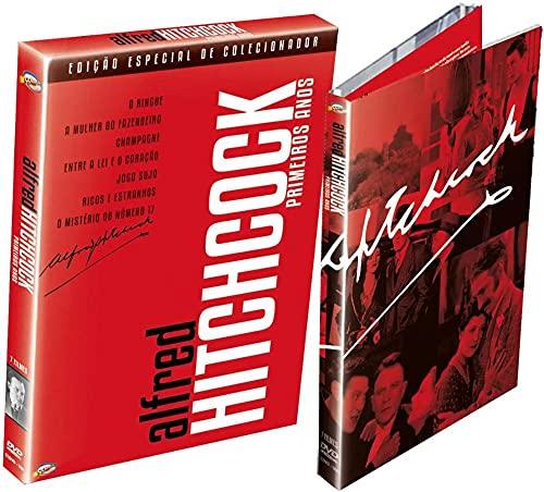 Alfred Hitchcock: Primeiros Anos - Ed. Especial de Colecionador (Digipack triplo com 7 filmes)