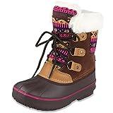 London Fog Girls Toddler Tottenham Cold Weather Snow Boot BR/FUS Size 10 Toddler