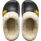 Rojeam Pantofole Impermeabili Comfort da Donna Scarpe da Giardino Invernali Pantofole da casa Calde da Esterno per Uomo Unisex Donna Donna Bambini(Bambino: Nero,23/24 EU)